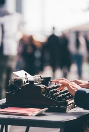 Typemachine voor maken voorbeeld bezwaarschrift