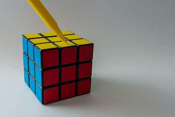 Rubics cube als symbool om NOW-regeling inzichtelijk te maken